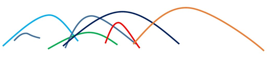 可変ベンチュリーの模式図。ニードルが入るだけでこれだけ複雑になる