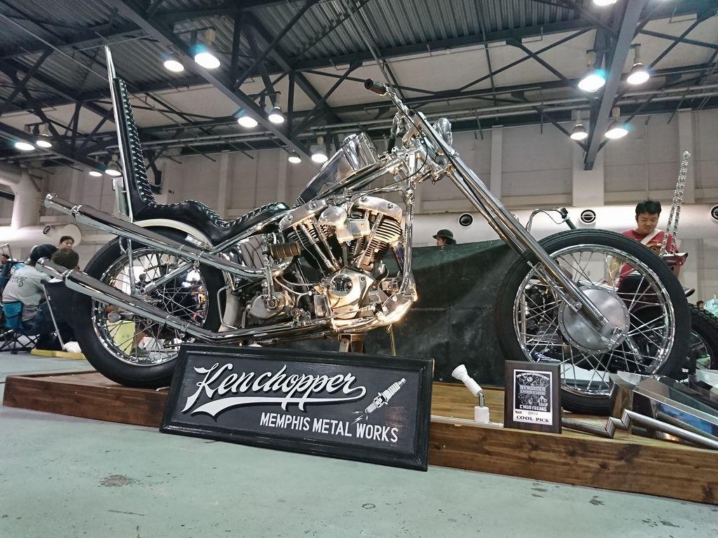 ケンチョッパー制作のバイク