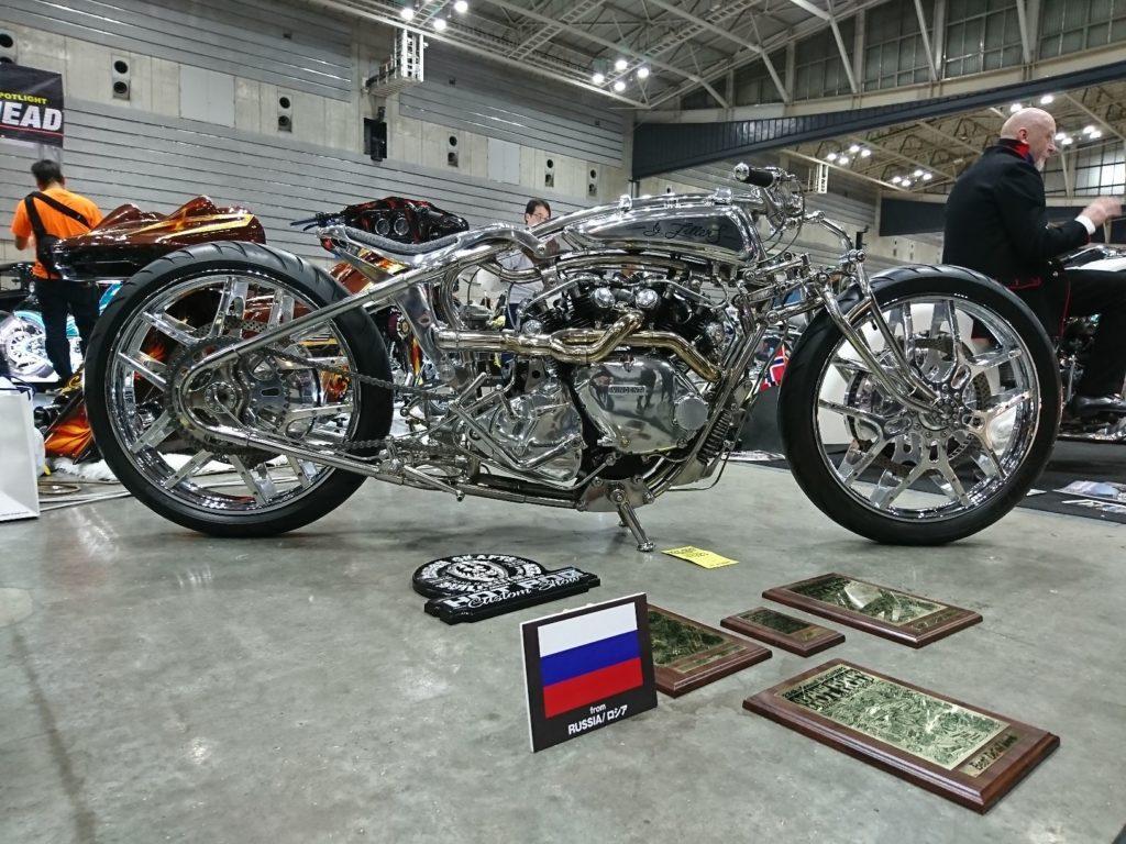ロシアで制作されたバイク