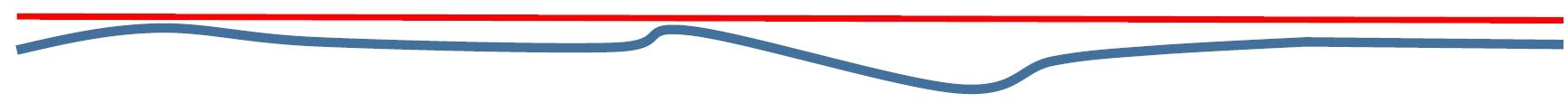 面がしっかり指定なくて隙間がある場合のガスケットが入る場所の模式図
